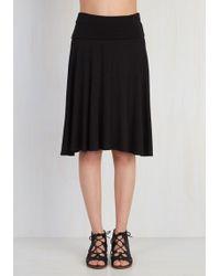 Mai Tai - Up Close And Versatile Skirt In Black - Lyst