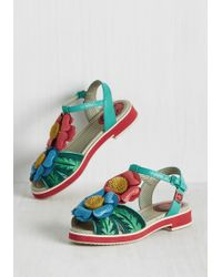 Miss L-fire - Keep Being Blossom Sandal - Lyst
