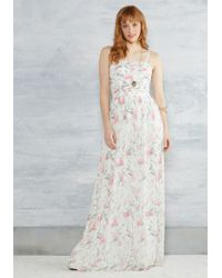 ERIN Erin Fetherston - Of Grace And Grandeur Maxi Dress In White - Lyst
