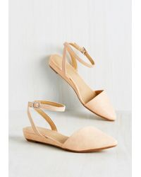 CL By Chinese Laundry - Sweet The Board Flat In Peach - Lyst