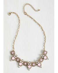 Lydell NYC - Chain Of Jewels Necklace - Lyst