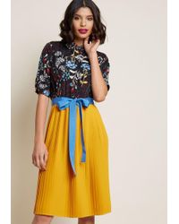 ModCloth - Adored Duet A-line Dress - Lyst