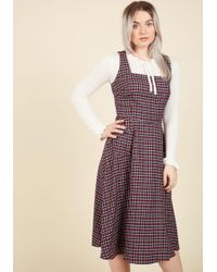 Collectif - Raring To Reminisce Midi Dress - Lyst