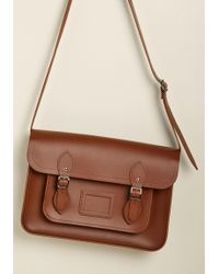 dec0c1373e49 Lyst - Cambridge Satchel Company The Company Bag In Mustard - 13 In ...