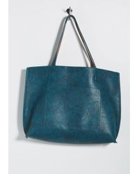 ModCloth - Totes Awesome Reversible Bag - Lyst