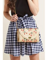 Collectif - Cherry So Often Clutch - Lyst