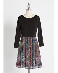 Hutch Beguile And Blaze Twofer Dress - Black