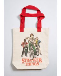 ModCloth - Upside Down For Anything Stranger Things Tote - Lyst