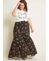 ModCloth - Emphasis On Effortless Buttoned Maxi Skirt - Lyst