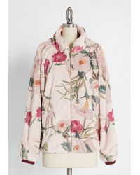 Hutch Comfy Cozy Morning Glory Jacket - Pink