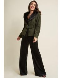 Collectif - Sentimental Twist Belted Jacket - Lyst