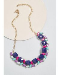 ModCloth - Connected Memories Statement Necklace - Lyst