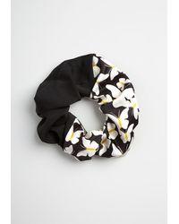 ModCloth A Talent For Tresses Scrunchie - Vintage Inspired - Black
