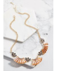 ModCloth - Jazzy Accent Statement Necklace - Lyst