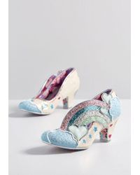 Irregular Choice - In The Clouds Glitter Heel - Lyst