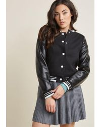 Collectif - '50s-style Bomber Jacket - Lyst