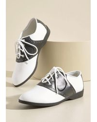 ModCloth - Who Could Be Saddle? Shoes - Lyst