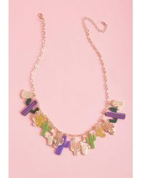 ModCloth - Eclectic Desert Statement Necklace - Lyst