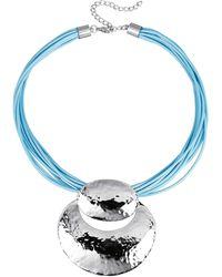 KLiNGEL Collier Lichtblauw