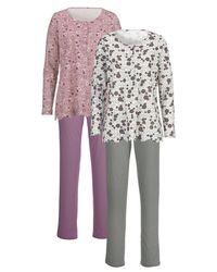 Harmony Pyjama Roze/lindegroen