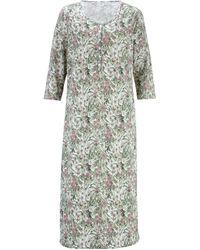 Harmony Nachthemd Oudroze/rozenhout/jadegroen