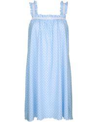 Ringella Nachthemd Hemelsblauw/wit