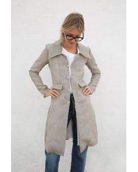Cherevichkiotvichki - Coat With Removable Lining And Collar - Lyst
