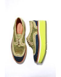 Robert Clergerie - Acajou Platform Loafers - Lyst