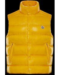 a7acda4591a0 yellow moncler gilet