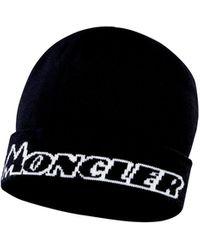 Moncler GORRO - Negro