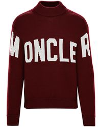 Moncler - PULL COL RAS-DU-COU - Lyst