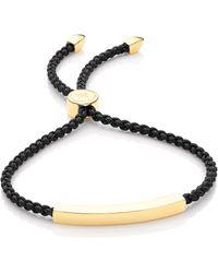 Monica Vinader - Linear Friendship Bracelet - Lyst