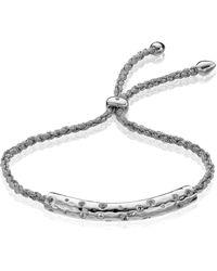 Monica Vinader Esencia Scatter Friendship Bracelet - Metallic
