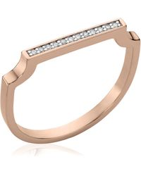 Monica Vinader - Signature Thin Ring - Lyst