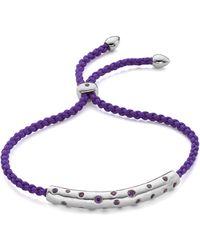Monica Vinader Linear Large Friendship Bracelet - Multicolour