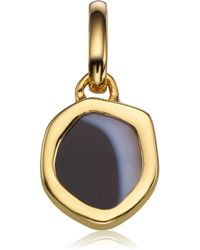 Monica Vinader - Atlantis Gem Mini Pendant - Lyst