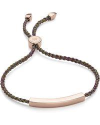 Monica Vinader Riva Mini Circle Bracelet - Multicolor
