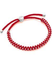 Monica Vinader Rio Friendship Bracelet - Red