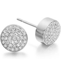 Monica Vinader - Ava Button Stud Earrings - Lyst