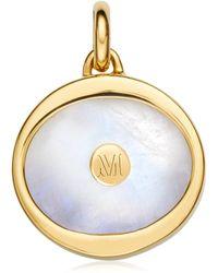 Monica Vinader Atlantis Evil Eye Pendant Charm - Multicolour