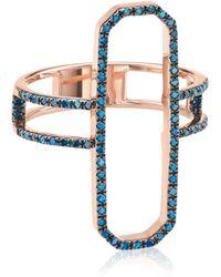 Monica Vinader - Naida Cocktail Ring - Lyst