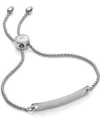 Monica Vinader Havana Mini Friendship Chain Bracelet - Metallic