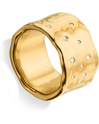 Monica Vinader Siren Scatter Ring - Metallic