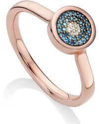 Monica Vinader Evil Eye Ring - Multicolour