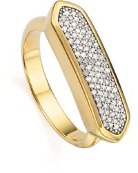 Monica Vinader - Baja Diamond Ring - Lyst