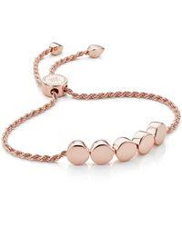 Monica Vinader Linear Bead Friendship Chain Bracelet - Multicolour