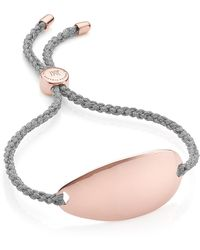 Monica Vinader - Nura Friendship Bracelet - Lyst