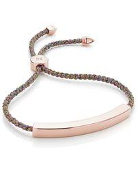 Monica Vinader - Siren Fine Chain Bracelet - Lyst