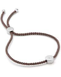 Monica Vinader Linear Solo Friendship Diamond Bracelet - Multicolour