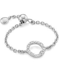 Monica Vinader Riva Mini Circle Adjustable Friendship Diamond Ring - Multicolor